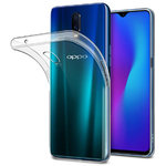 Flexi Thin Crystal Gel Case for Oppo R17 - Clear / Gloss